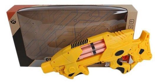 Купить Бластер Наша Игрушка YH3212, разноцветный, 48.5 х 8.5 х 26. 0 см, для мальчика, Игрушечное оружие