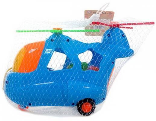 Купить Каталка-сортер Наша Игрушка Вертолетик разноцветный от 3 лет пластик, унисекс, Каталки на палочке / на шнурке