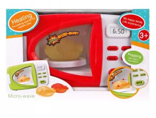 Микроволновая печь Наша Игрушка микроволновая печь со светом микроволновая печь erisson mw20mn
