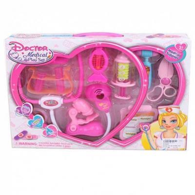 Игровой набор Наша Игрушка Набор медсестры 10 предметов игровой набор наша игрушка сумочка стилиста 11 предметов