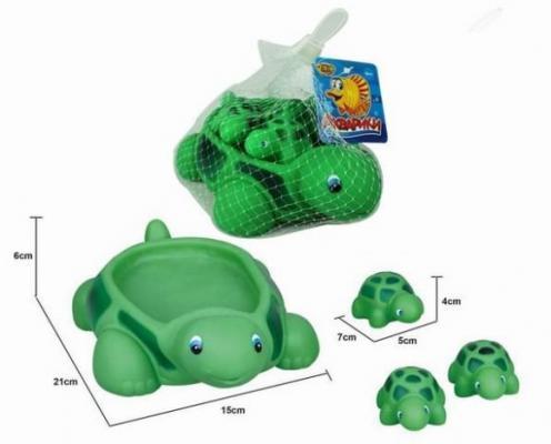 Интерактивная игрушка Наша Игрушка Черепашки от 1 года зелёный интерактивная игрушка ks kids девочка julia для купания от 1 года белый ка10419