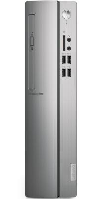 ПК Lenovo IdeaCentre 310S-08ASR SFF A9 9425 (3.1)/8Gb/1Tb 7.2k/R5/DVDRW/CR/Free DOS/GbitEth/65W/черный/серебристый пк lenovo ideacentre 510s 07icb sff cel g4900 3 1 4gb 1tb 7 2k uhdg 610 free dos gbiteth серебристый