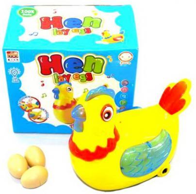 Интерактивная игрушка Наша Игрушка Курочка-несушка от 3 лет lilliputiens курочка офелия музыкальная игрушка