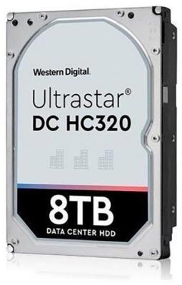 Жесткий диск WD Original SAS 3.0 8Tb 0B36400 HUS728T8TAL5204 Ultrastar DC HC320 (7200rpm) 256Mb 3.5 жесткий диск 3 5 8tb 7200rpm hgst ultrastar he10 sas 0f27358