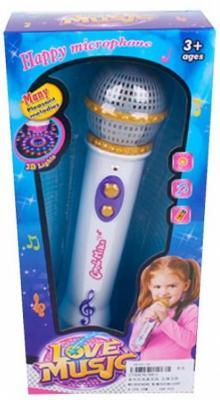 Купить Интерактивная игрушка Наша Игрушка 6811 от 3 лет, разноцветный, 21 см, пластик, для девочки, Игрушки со звуком