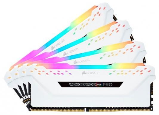 Память DDR4 4x8Gb 3000MHz Corsair CMW32GX4M4C3000C15W RTL PC4-24000 CL15 DIMM 288-pin 1.35В