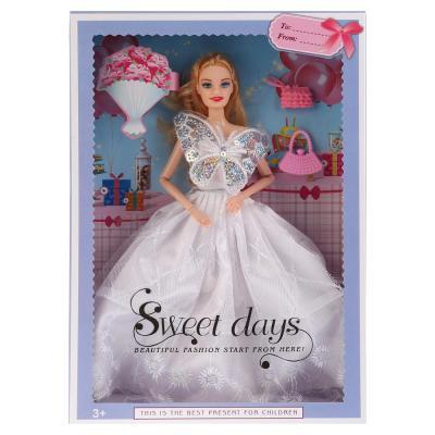 Кукла Shantou Кукла 29см, гнущаяся, с аксесс., цвет в ассорт. 502 29 см шарнирная кукла yako m6579 6