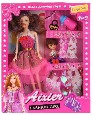 Кукла Shantou Кукла с дочкой AX122B 29 см кукла yako m6579 6