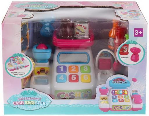 Купить Кассовый аппарат на бат. свет+звук, с микрофоном, с аксесс. 031 в кор. в кор.2*12шт, Shantou, для девочки, Игровые наборы Детский супермаркет