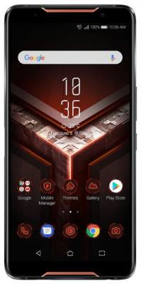 Смартфон ASUS ROG Phone ZS600KL 128 Гб черный (90AZ01Q1-M00070) смартфон asus rog phone zs600kl 512gb black