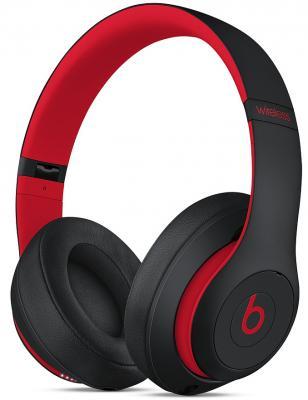 лучшая цена Гарнитура Apple Beats Studio3 черный красный MRQ82EE/A