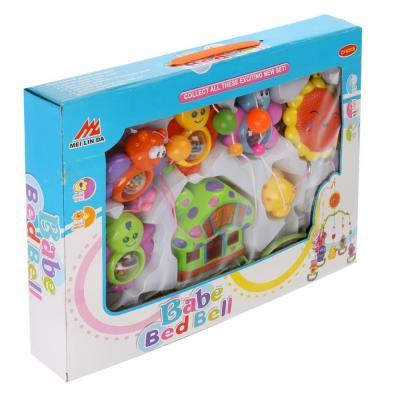 Купить Погремушка муз. на подвеске, на бат. со светом B814 в кор. в кор.2*18шт, Shantou, разноцветный, унисекс, Погремушки и прорезыватели