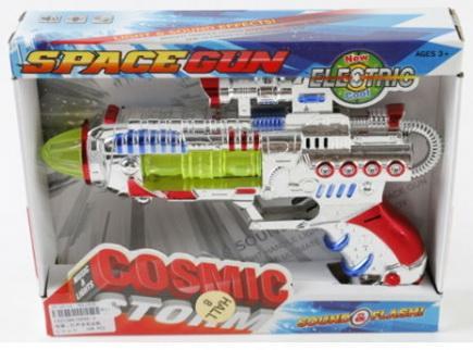 Купить Пистолет Shantou Gepai Space Gun, разноцветный, 25 х 5 х 20 см, для мальчика, Игрушечное оружие