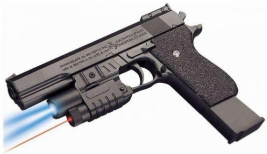 Пистолет Shantou Gepai K2011-G черный пистолет игрушечный shantou gepai 8808 1