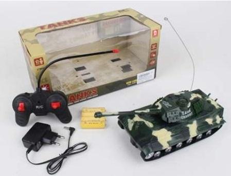 Танк на радиоуправлении Shantou B1690080 пластик от 6 лет цвет в ассортименте