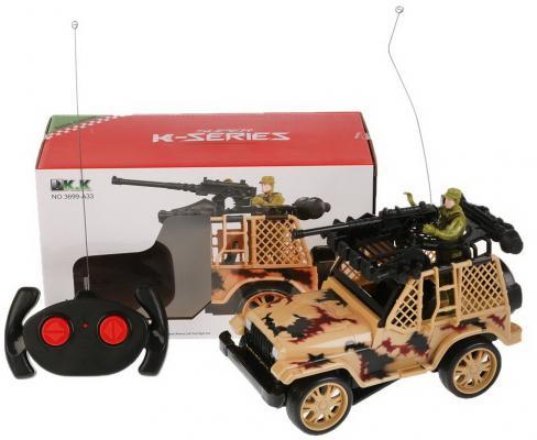 Военный автомобиль на радиоуправлении Shantou B1710609 пластик, металл от 6 лет цвет в ассортименте военный автомобиль на радиоуправлении tongde в72398 пластик от 3 лет зелёный