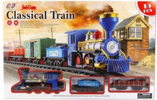 Железная дорога Shantou Classic Train V8088 с 3-х лет B962341 железная дорога shantou железная дорога jhx6608 с 3 х лет b1606589