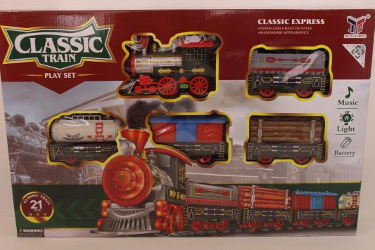 Железная дорога Shantou Classic Train 866A-1 с 3-х лет B1559633 железная дорога shantou железная дорога jhx6608 с 3 х лет b1606589