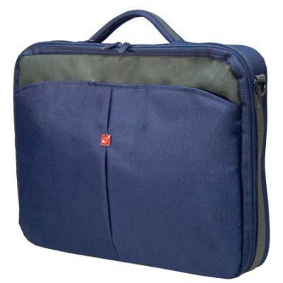Сумка для ноутбука Continent CC-02 до 15,6 (нейлон, Navy, 41 x 31 x 9 см.) аксессуар сумка 15 6 continent cc 05 beige
