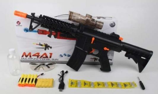 Купить Автомат Shantou Gepai B1643292 черный, 9 x 50 x 23 см, для мальчика, Игрушечное оружие