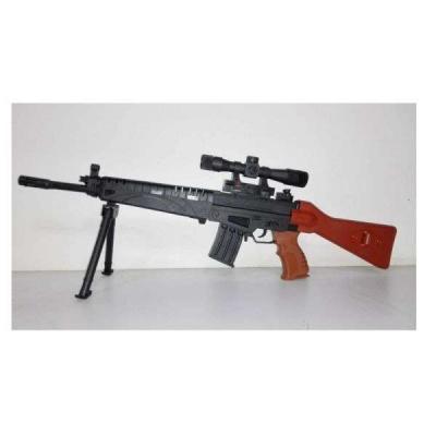 Купить Автомат Shantou Gepai 1B00143 черный, 5 x 70 x 22 см, для мальчика, Игрушечное оружие
