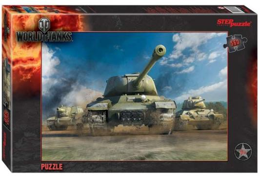 Купить Пазл СТЕППАЗЛ World of Tanks 560 элементов, Пазлы-картины