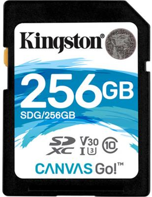 Фото - Карта памяти SDXC 256Gb Class10 Kingston UHS-I U3 Canvas Go! (SDG/256GB) карта памяти goodram micro sdxc 256gb uhs i w a m1aa 2560r12