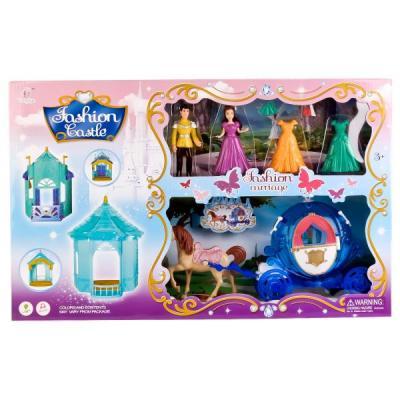 Набор аксессуаров для кукол Shantou Игровой набор для кукол с фигурками и акскссуарами