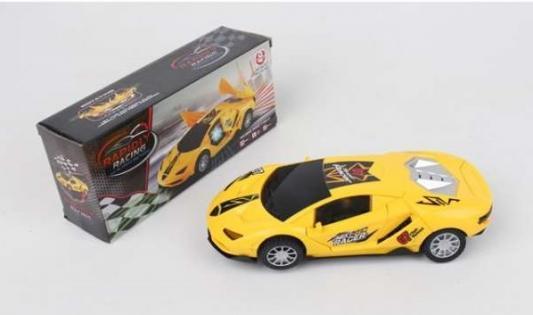 Купить Автомобиль Shantou Gepai Машина на бат HG-783 желтый, Детские модели машинок