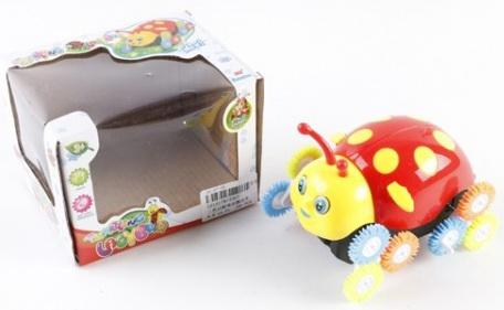 Интерактивная игрушка Shantou Божья коровка от 3 лет в ассортименте интерактивная игрушка furby connect яркие цвета в ассортименте