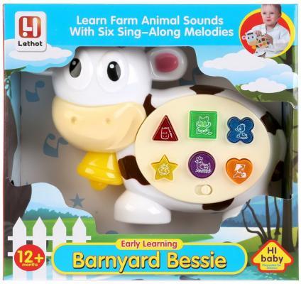Купить Интерактивная игрушка Shantou Корова от 1 года, разноцветный, пластик, унисекс, Игрушки со звуком