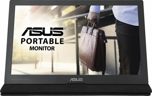 Монитор 16 ASUS MB169C+ cерый IPS 1920x1080 180 cd/m^2 5 ms USB 90LM0180-B01170