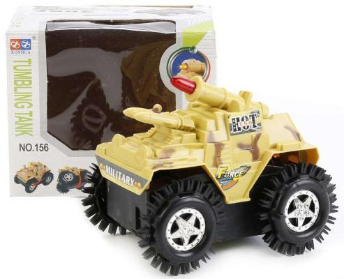 Танк Shantou Gepai Танк-перевертыш A1155 камуфляж 11.5 см игрушка shantou gepai машина перевертыш 666 858
