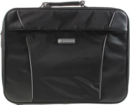 Сумка для ноутбука Continent CC-892 до 17 (нейлон, черный, 46 x 36 x 13 см) сумка рамка thule pack n pedal ipad map sleeve для планшетных компьютеров цвет черный 26 x 2 x 21 см