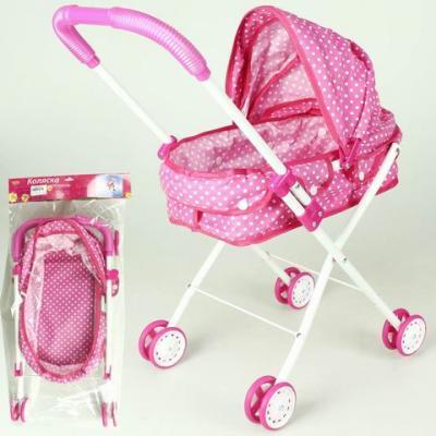 Коляска-люлька для кукол YAKO YTM7499-2 коляска люлька для кукол brio 24891114