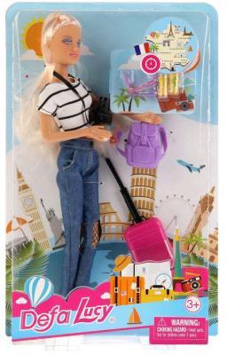 Игровой набор DEFA LUCY Кукла-путешественница кукла defa lucy летние покупки 8220