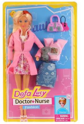 Кукла DEFA LUCY Доктор-няня 32 см кукла defa lucy 8296a
