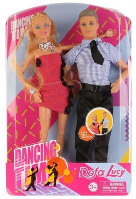 Купить Набор кукол DEFA LUCY Набор из 2-х кукол (муж+жена) 33 см шарнирная, пластмасса, текстиль, Классические куклы и пупсы