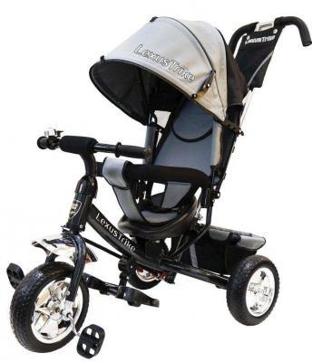 Велосипед Lexus Trike ВЕЛОСИПЕД 3КОЛ. EVA 10И8 10/8 серый велосипед sweet baby mega lexus trike violet 8 10 air music bar