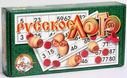 Настольная игра Тридевятое царство развивающая Русское лото настольная игра тридевятое царство развивающая школа дошколят