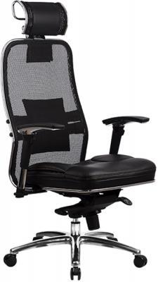 Кресло Samurai SL-3.02 с 3D подголовником Черный кресло компьютерное метта samurai sl 2