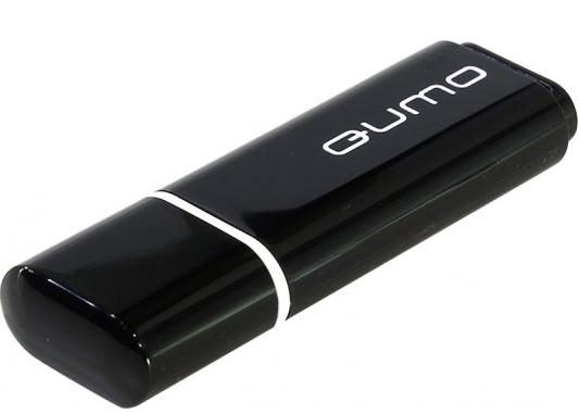 USB 2.0 QUMO 4GB Optiva 01 Black [QM4GUD-OP1-black] qumo marshmallow 4gb black mp3 плеер