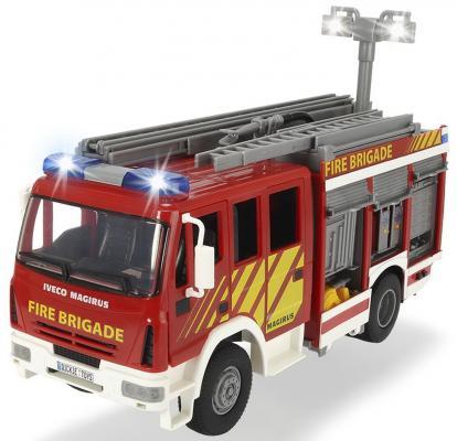 Пожарная машина Dickie Dickie разноцветный 30 см машина мюллер 2018 11 06t20 30