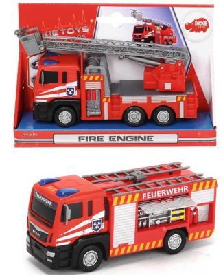 Пожарная машина Dickie разноцветный 17 см dickie пожарная машина 36см 3308371