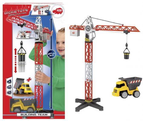 Набор кран+самосвал, 67-13,5см игровой набор dickie toys набор кран и самосвал