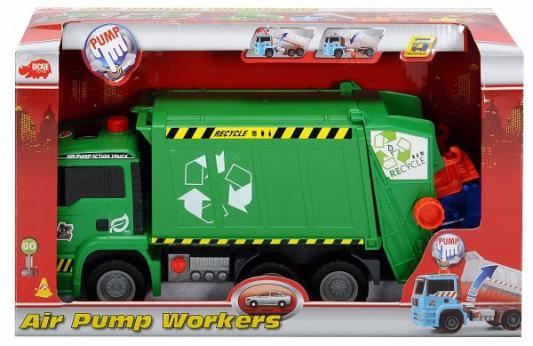 Купить Мусоровоз Dickie Мусоровоз с контейнером разноцветный, Детские модели машинок