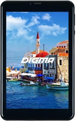 "Планшет Digma Plane 8566N 3G MT8321 (1.3) 4C/RAM1Gb/ROM16Gb 8"" IPS 1280x800/3G/Android 7.0/черный/2Mpix/0.3Mpix/BT/GPS/WiFi/Touch/microSD 64Gb/minUSB/3200mAh цена"