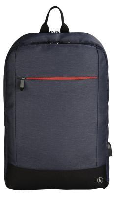 Рюкзак для ноутбука 17.3 HAMA Manchester полиэстер синий 00101892