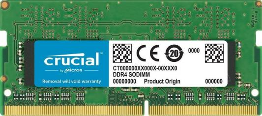 Память DDR4 8Gb 2400MHz Crucial CT8G4S24AM RTL PC4-19200 CL17 SO-DIMM 260-pin 1.2В single rank