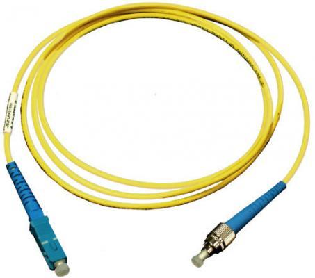Патч-корд оптический TopLan, симплексный, FC/UPC-SC/UPC SM, 1.0 м LSZH
